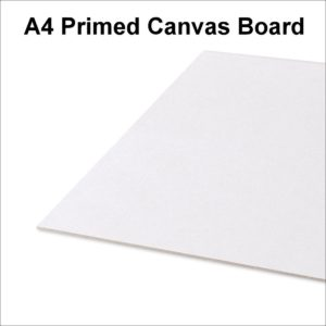 Artist 100% Cotton Canvas Boards Primed Panel Acrylic Oil Painting (A1 A2 A3 A4)