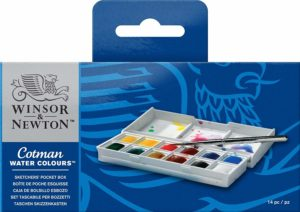 Winsor & Newton Cotman Sketcher's Pocket Box set of 12