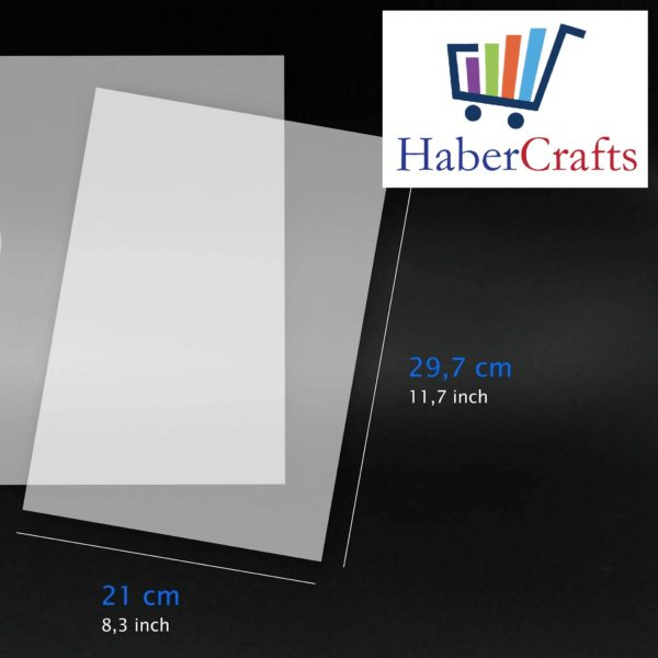 Universal Inkjet Transparency Film A4 Clear OHP Sheets Ink Jet Printer Acetate (10 To 100 Sheets)